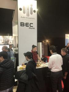 BEC-Akustik Messestand